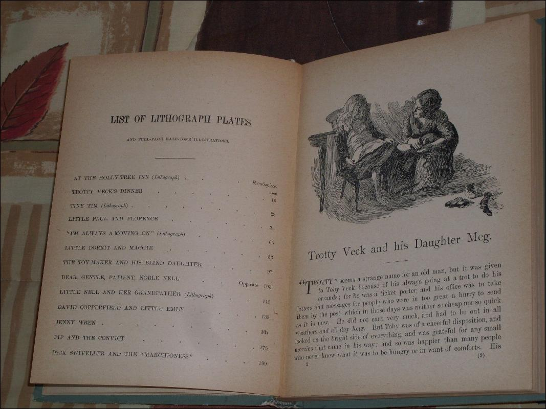 Antique Book ~ Circa 1898 ~ Charles Dickens ~ Beautiful Stories About Children  (Total of 16 Stories) Hardcover in Tidy Condition ALL INSIDE PAGES CRISP + CLEAN  ~~