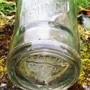 c 1924 DELAWARE PUNCH clear glass POP Bottle _ Embossed_ 6 Fld. Ozs_ SEATTLE,WASH_USA