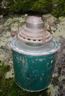 CANADIAN PACIFIC RAILWAY Oil Lantern Stamped CPR