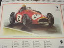 Vintage FERRARI Calendar  In New Condition this item is Direct from Carmakers Store Years ago