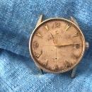 10K GOLD MENS OMEGA CENTURY wrist watch WORKING + 15pc lot WORKING GLADSTONE