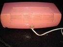 TESTED GOOD WORKING ORDER _Rogers Majestic PINK MANTLE RADIO  Circa 1960's Size 12.5 Inches Wide ~ that is in Good Working Order. Tidy Condition. Safe Electric Cord + Plug. for Home Or Office