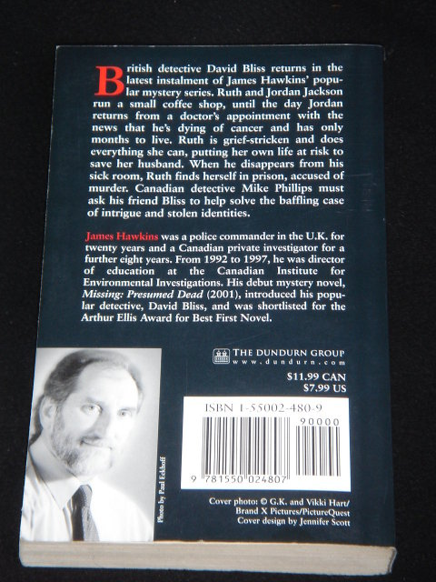 Collectible Books Paper Back  2003 A YEAR LESS A DAY An Inspector Bliss Mystery by James Hawkins Good Clean Copy