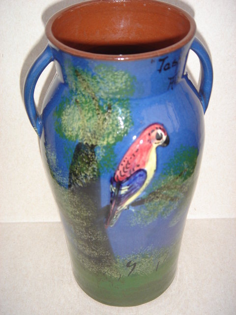 Antique TORQUAY Pottery Vase  COLLECTORS Early Torquay Potteries ALSO KNOWN as Hele Cross Pottery ~~Stamped