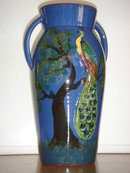 Antique TORQUAY Pottery VASE  SIZE 10 INCH TALL ~ Beautiful GIFT in MINT CONDITION.