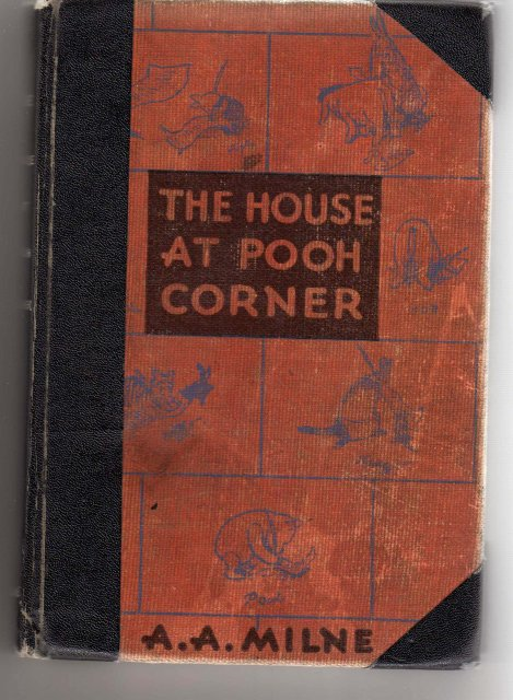 Collectible Book ~ THE HOUSE AT POOH CORNER by A.A.MILNE 178 Plus Pages ~ Circa 1935 ~