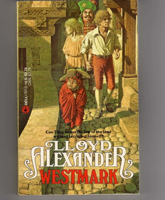 Collectible Paperback Pocketbook by Lloyd Alexander TITLE: WESTMARK from Estate Book Collection
