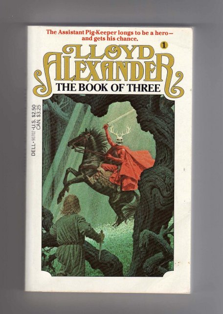 Books Collectible Paperback Pocketbook ~ From Book Collection~ Lloyd Alexander Title: The Book of Three