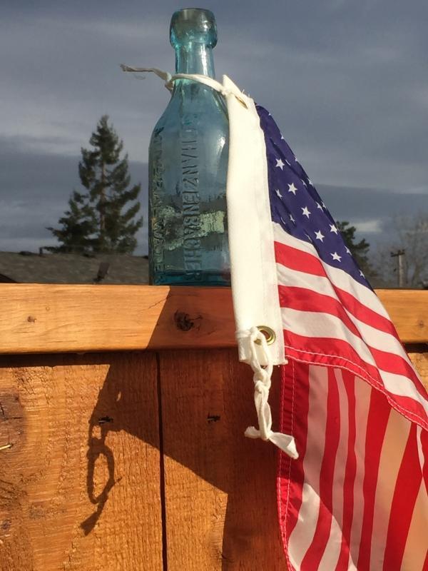 BLOB TOP _SCHANZENBACHER MINERAL WATER _LOUISVILLE, KY _Stamped: A & DH c  Hand Dug_ Rare Find