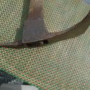 c1870s Ship Builders Y shape ADZE _Blacksmith created _ Primitive _ UnUsual design _ with wooden handle