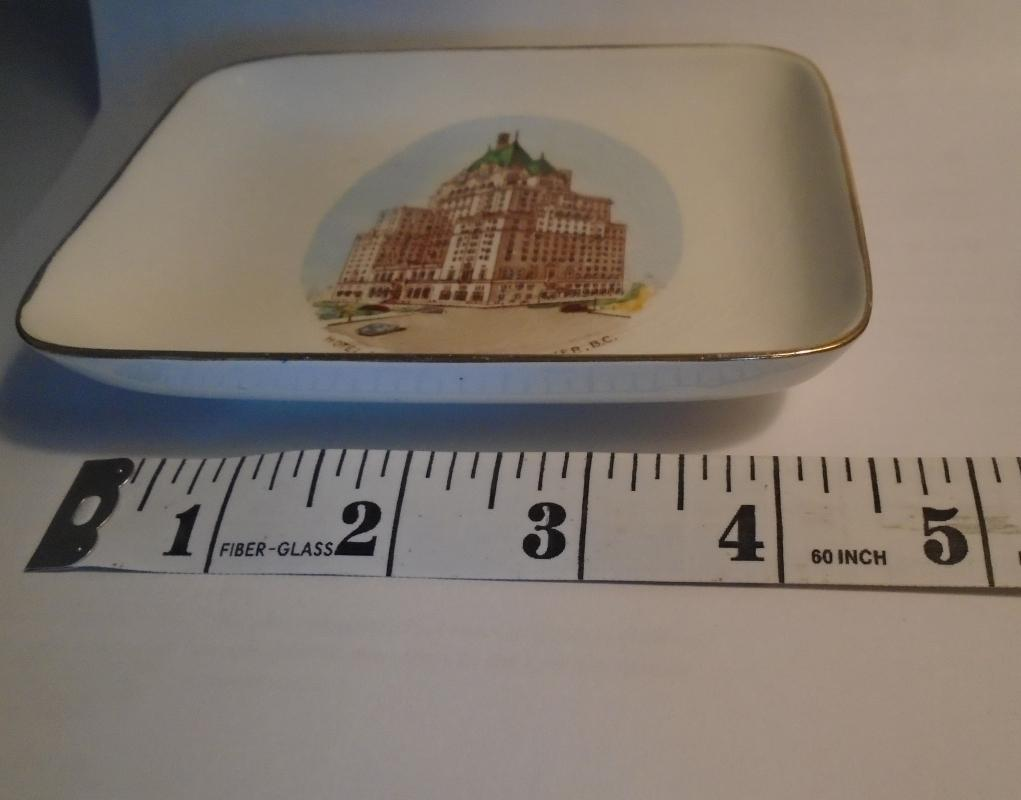 Circa 1940s HOTEL VANCOUVER Sweet Meat TRAY Royal Winton England. In Excellent condition . GIFT any day of the Year