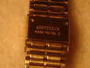 Gently Pre-owned MEN'S SEIKO Gold Tone WRIST WATCH _with BLACK DIAL