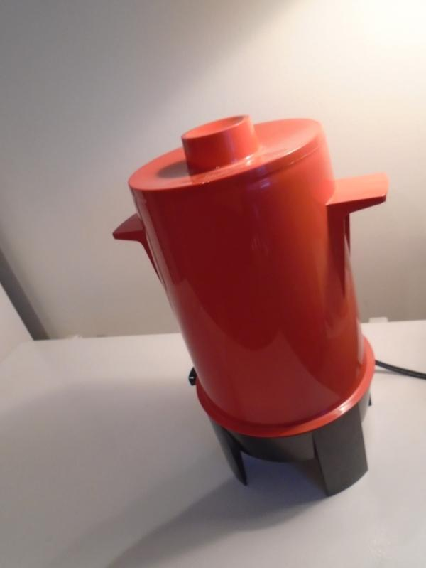 AS NEW Vintage RETRO Red/ Orange Regal Poly Perk 10-20 Cup COFFEE MAKER Auto Percolator URN
