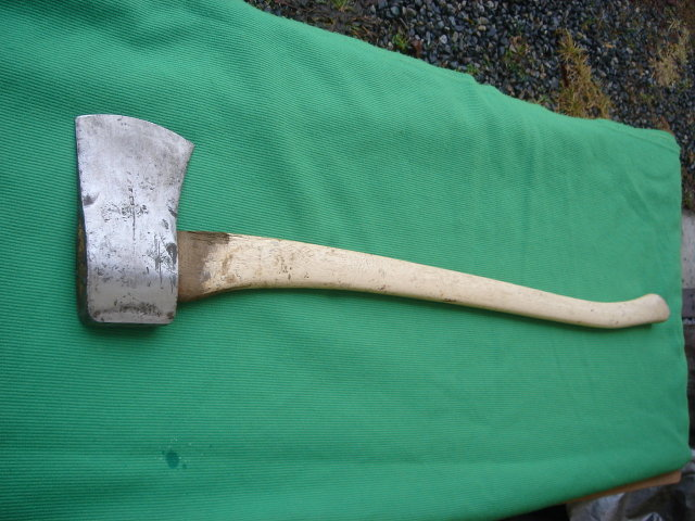 Good ole SWEDEN Single Bit AXE with Hickory Handle_ Ax _ It's The Quality of Steel