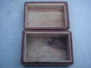 Ornate Vintage Wooden Carved Box. __Size 6