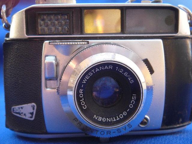 Vintage BALDA PRONTOR-SVS Camera Color Westanar 1:2,8/45 ___Made in Germany