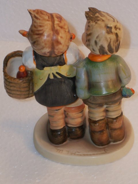 HUMMEL Figurine _To Market_ Circa 1960's _ In Excellent Condition.