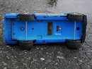 Toys _ Vintage TONKA Toys Jeep Pick-up Truck with Open + Closing Tailgate_also with Original CB Radio Antenna. Beautiful Blue Colour. Windows complete.  Shipping available to U.S.A. Note: various costs in description.
