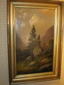 19th century American Landscapes by NY artist Alden Sampson