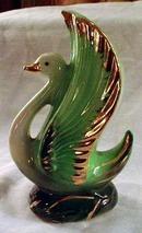 Vintage Swan Vase 7