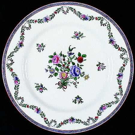 Spode Luncheon Plates and Saucers 8 Pieces