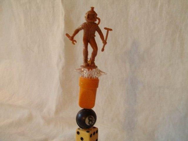 Outsider Art  Sculpture Whimsical 9