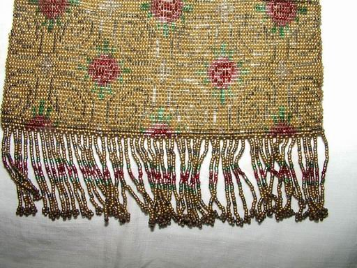 Victorian Purse Heavy Beaded and Fringed