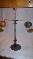 Hot Air Balloon Toy Baskets Spin Down