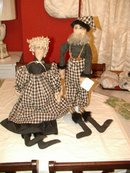 Pair of Dolls by T. Mauzy Charlottesville, VA