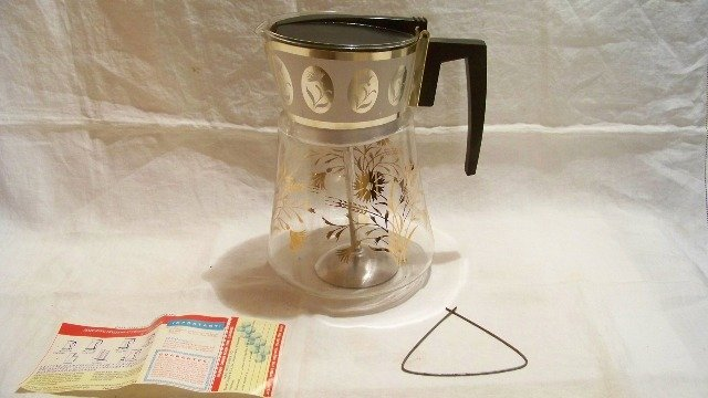 Vintage Douglas Percolator Coffee Pot