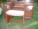Vintage Bedroom Set  Victorian Handpainted Trompe l'oeil