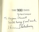 900 Days The Siege of Leningrad Signed 1st ed with DJ