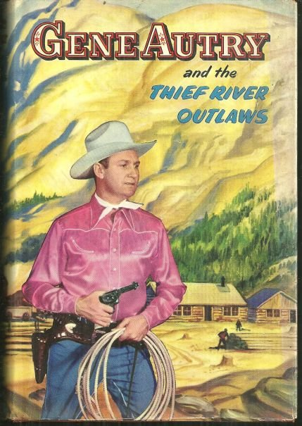 Gene Autry and the Thief River Outlaws 1944 with DJ