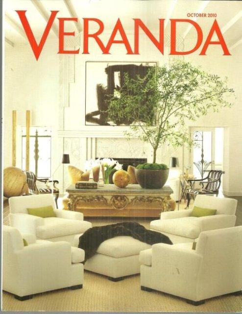 Veranda Magazine October 2010 Piet Oudolf Dutch Gardener