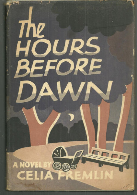 Hours Before Dawn by Celia Freeman 1958 Mystery with Dust Jacket