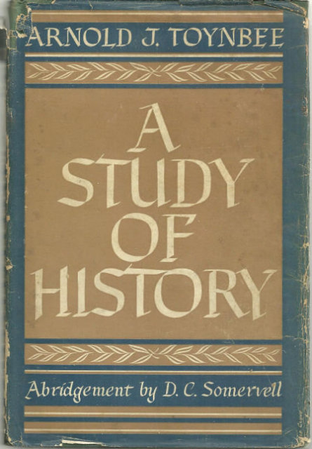 Study of History Abridgement of Volume I- IV by Arnold Toynbee 1947 with DJ