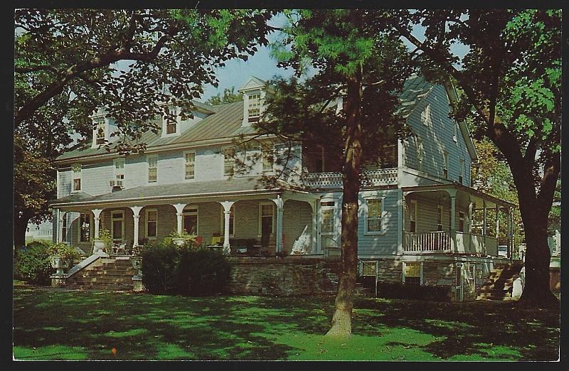 M.S. Hershey Homestead, Birthplace Hershey, Pennsylvania Vintage Unused Postcard