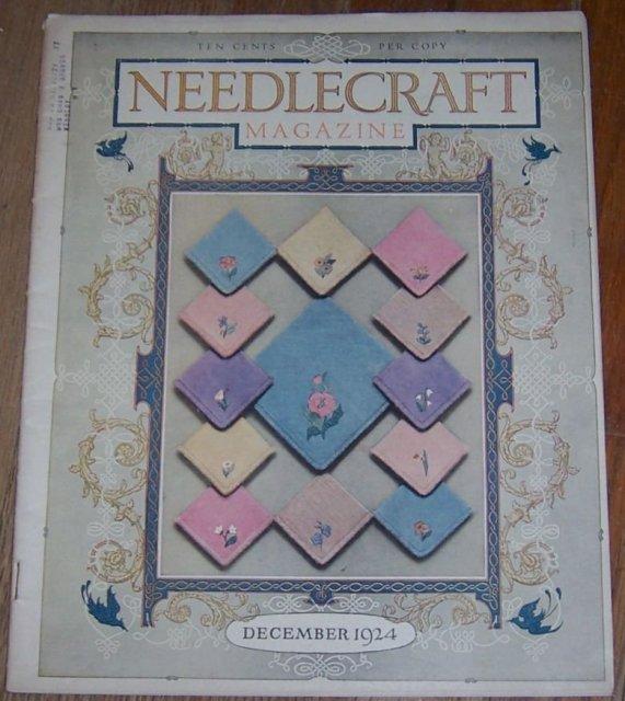 Needlecraft Magazine December 1924 Christmas Goodies