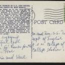 Oldest Church in the US San Miguel Mission, Santa Fe, New Mexico Postcard 1947