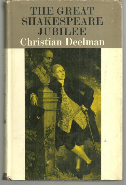 Great Shakespeare Jubilee by Christian Deelman 1964 1st edition with Dustjacket