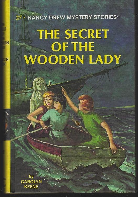 Secret of the Wooden Lady by Carolyn Keene Nancy Drew Mystery Series #27 Matte