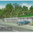 New Shelby Motel, Lafollette, Tennessee Norris Lake Vintage Unused Postcard