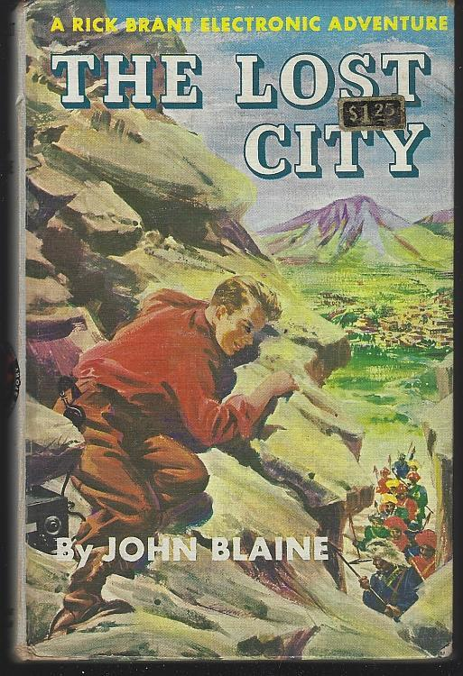 The Lost City by John Blaine Rick Brant Science Adventure Story Vol. 2 1947