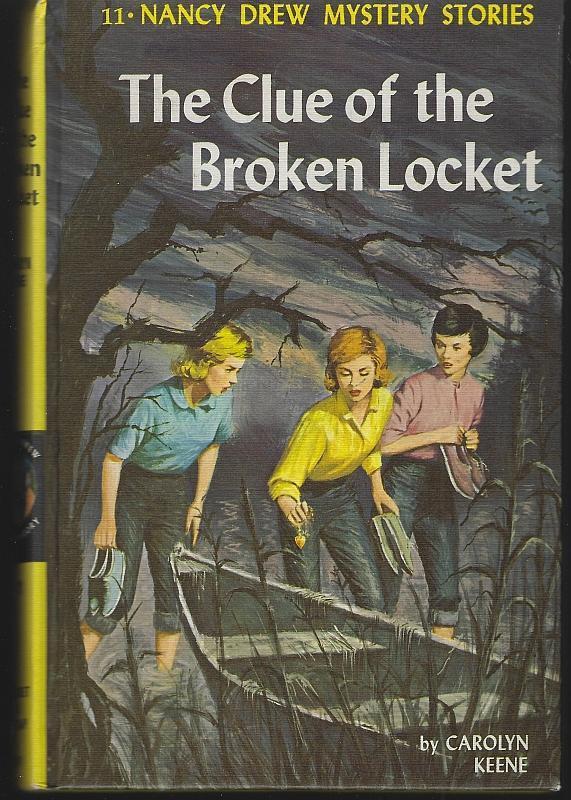 Clue of the Broken Locket by Carolyn Keene Nancy Drew Series #11 1965 Matte