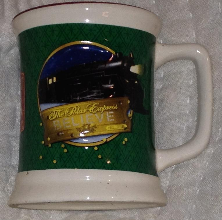 Polar Express Hot Chocolate Mug, Believe the Bell Still Rings For Me Holiday