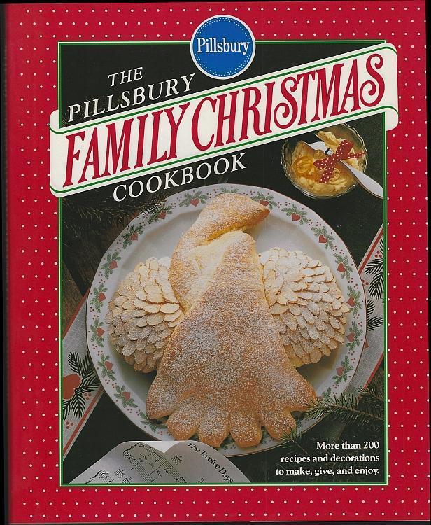 Pillsbury Family Christmas Cookbook 1991 Recipes Homemade Gifts Holiday Sweets