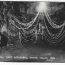 Crystal Cave Cathedral, Spring Valley, Wisconsin Unused Real Photo Postcard