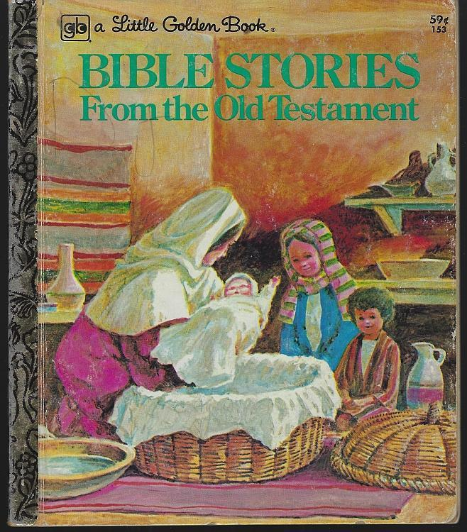 Bible Stories from the Old Testament by Sing Lee 1977 Little Golden Book
