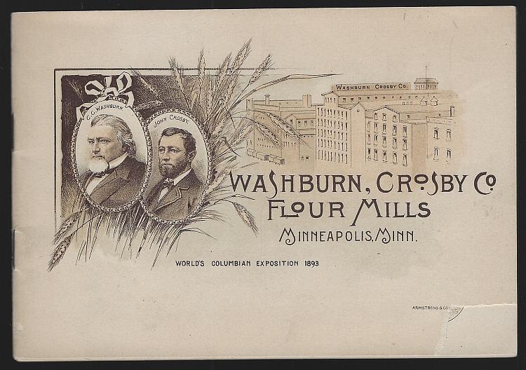 Washburn, Crosby Co. , Flour Mills World's Columbian Exposition Advertising Book