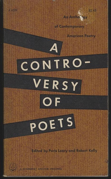 Controversy of Poets an Anthology of Comtemporary American Poetry 1965